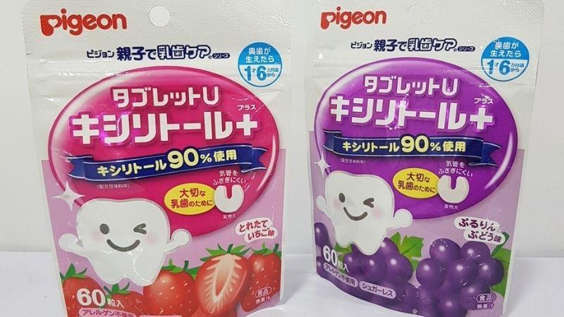 Kẹo chống sâu răng hiệu Pigeon