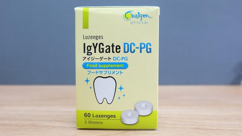 Thuốc ngậm chữa răng sâu của Nhật IgYGate DC-PG