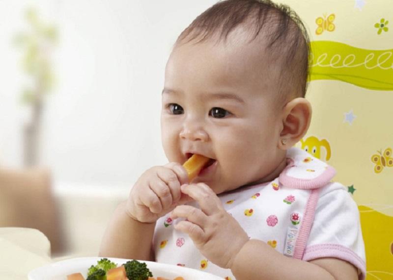 Cho bé ăn dặm bằng cái loại rau củ