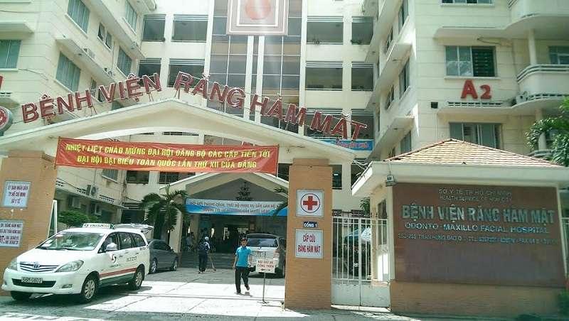 Điều trị viêm nha chu tại Bệnh viện Răng Hàm Mặt TP. HCM