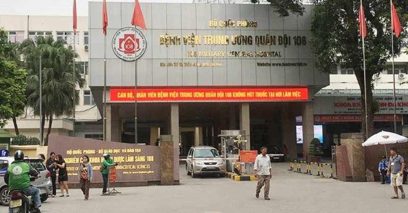 Chữa viêm nha chu tại Khoa Răng - Bệnh viện Trung ương Quân đội 108