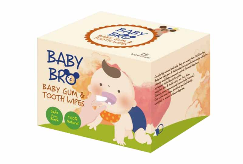 Gạc Baby Bro có tác dụng diệt khuẩn hiệu quả