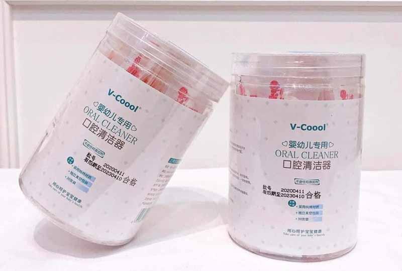 Đây là loại gạc rơ lưỡi được sử dụng như bàn chải đánh răng của trẻ sơ sinh