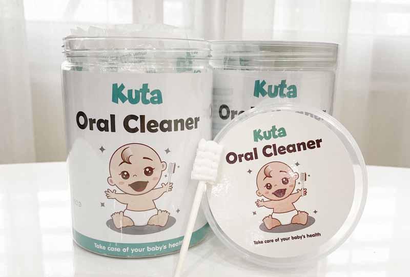 Gạc vệ sinh răng miệng cho trẻ Kuta