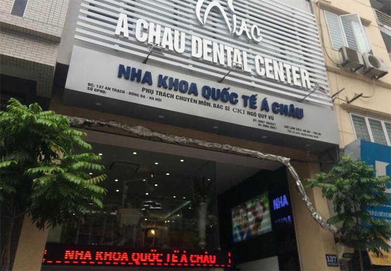 Nha khoa quốc tế Á Châu tại Đống Đa