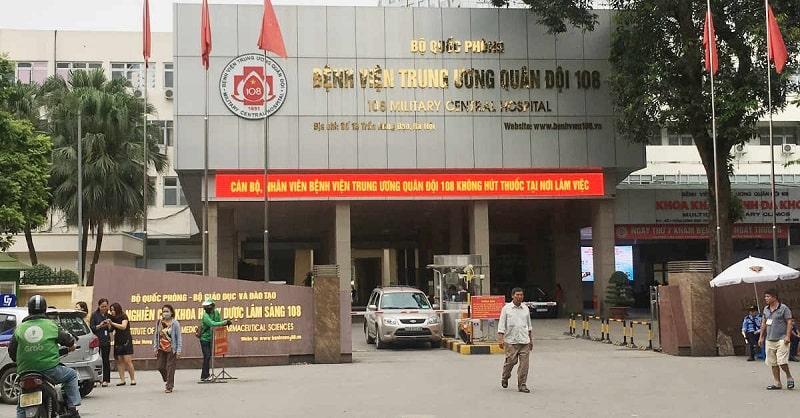 Bệnh viện Trung ương Quân đội 108 là một trong những địa chỉ hàng đầu chữa sâu răng có mủ được người dân tin tưởng