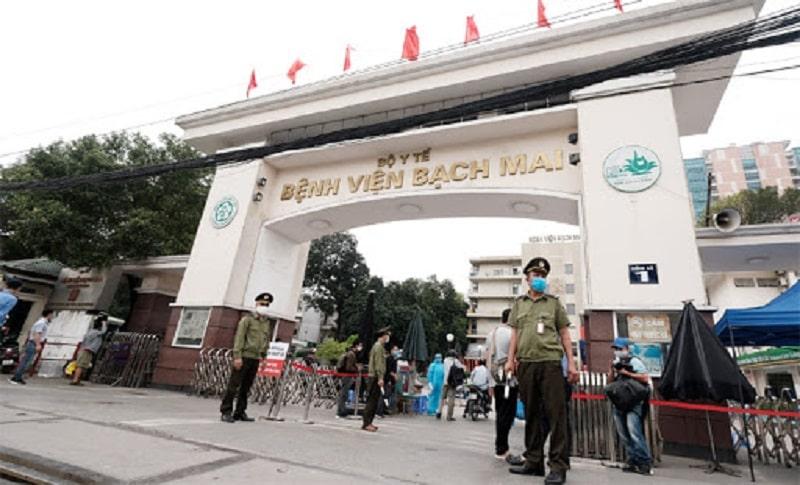 Bệnh viện Bạch Mai được xem là một trong những bệnh viện tuyến đầu của nước ta hiện nay