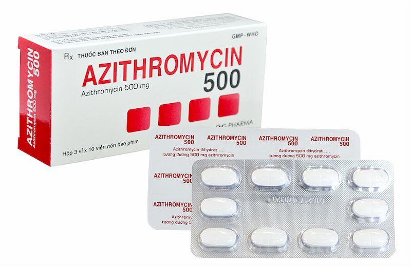 Thuốc Azithromycin 500mg