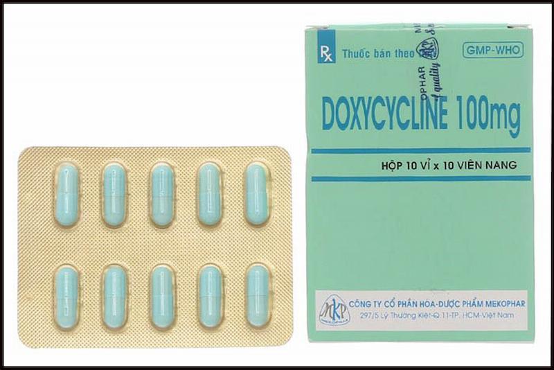 Thuốc kháng sinh Doxycycline giúp giảm đau kháng viêm nhanh chóng