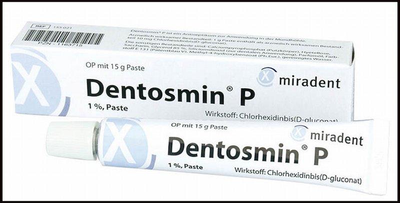 Thuốc bôi Dentosmin P được nhiều bệnh nhân sử dụng trị bệnh viêm nha chu