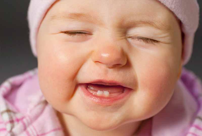 Trẻ mọc răng chậm do nhiều nguyên nhân khác nhau