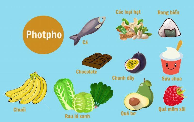 Bổ sung quá nhiều thực phẩm chứa photpho cũng là nguyên nhân khiến trẻ mọc răng chậm