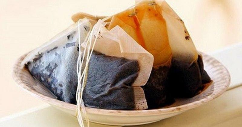 Có thể sử dụng bã trà đã ngâm để điều trị viêm lợi trùm tại nhà
