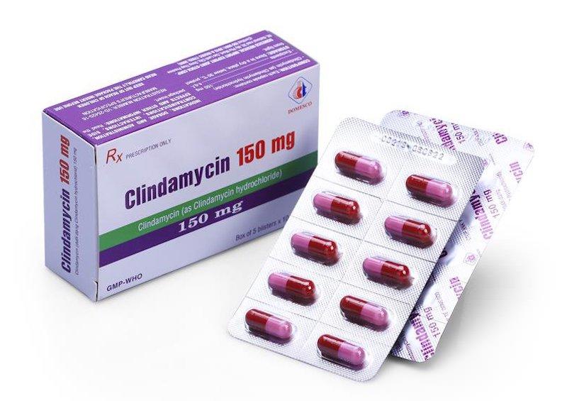 Thuốc kháng sinh trị viêm nướu chân răng Clindamycin