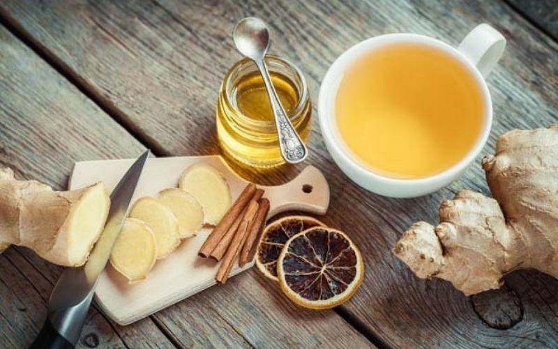 Trà gừng vừa có thể làm ấm cơ thể, vừa ngăn ngừa các cơn đau do viêm nha chu gây nên