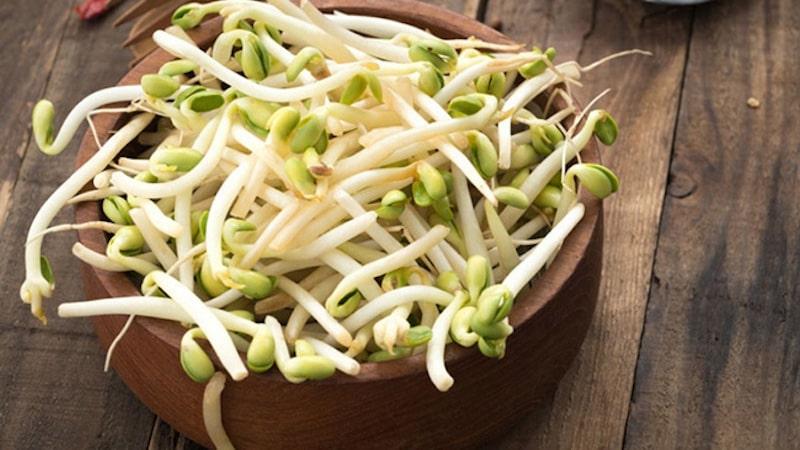 Giá đỗ là một loại thực phẩm mang đến nhiều công dụng tích cực cho sức khỏe của trẻ
