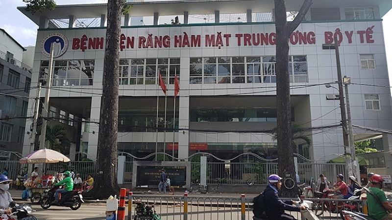 Bệnh viện Răng Hàm Mặt Trung Ương tại Hà Nội (thuộc Viện Răng Hàm Mặt Quốc Gia)
