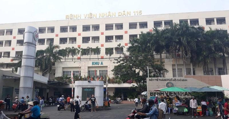 Bệnh viện Nhân dân 115 nổi tiếng trong phía Nam về sự uy tín và hiệu quả