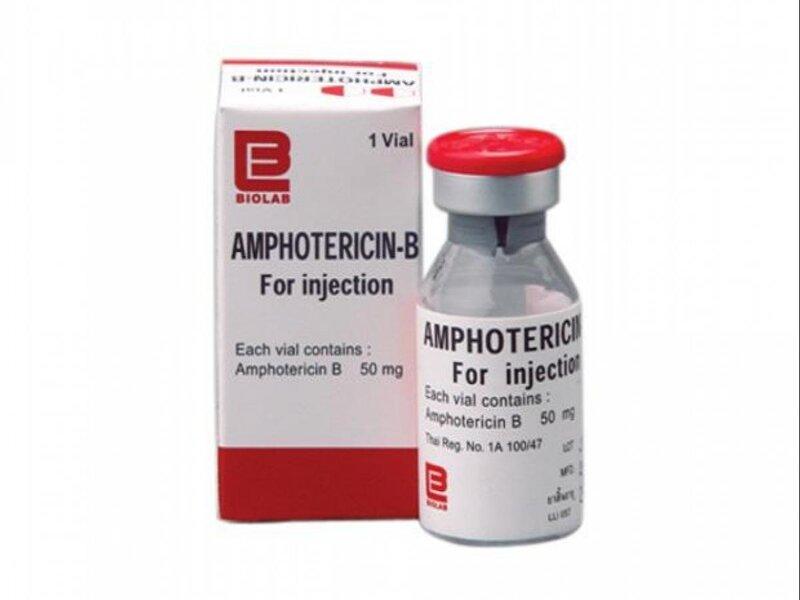 Thuốc bôi nấm miệng cho trẻ sơ sinh Amphotericin B