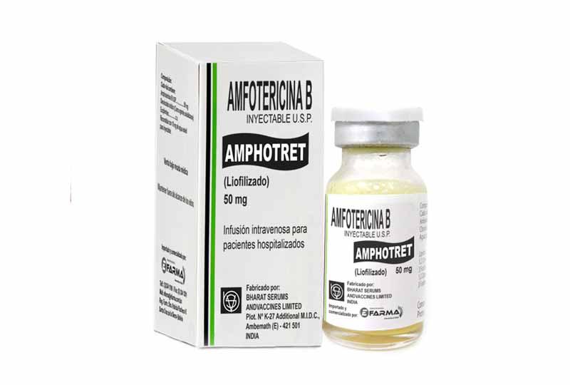 Thuốc chữa bệnh nấm miệng ở người lớn amphotericin B