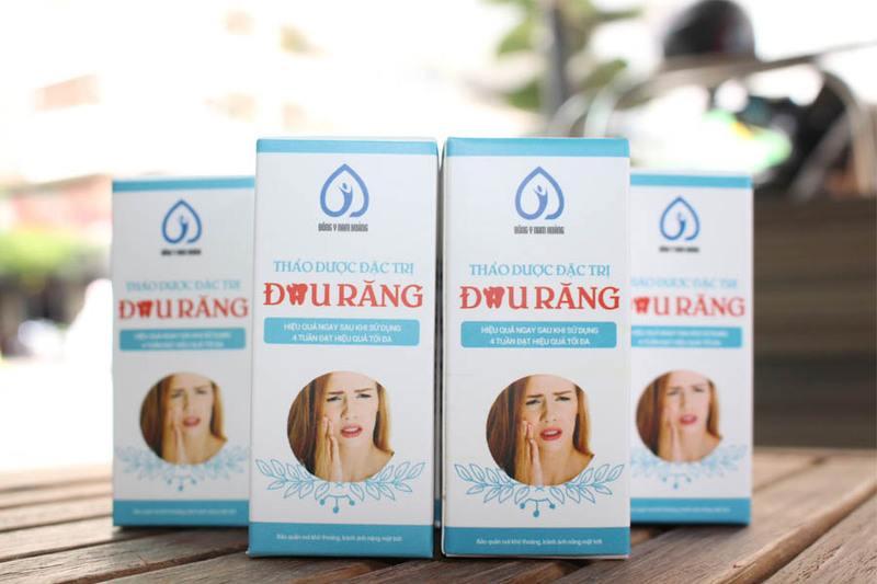 Thảo dược đặc trị đau răng của nhà thuốc Nam Hoàng