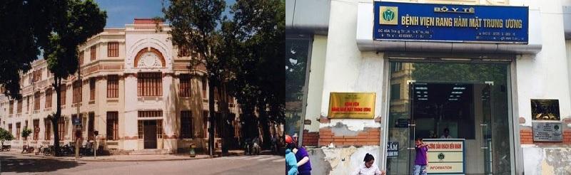 Bệnh viện Răng Hàm Mặt Trung ương tại TP Hà Nội