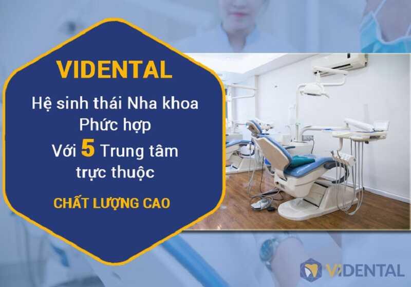 Trung tâm thẩm mỹ nha khoa Vidental là địa chỉ nhổ răng khôn uy tín